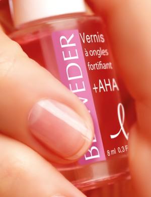 Лак укрепляющий БЕЛЬВЕДЕР для расслаивающихся ногтей с фруктовыми (АХА) кислотами