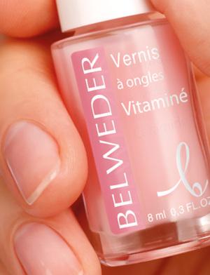 Лак укрепляющий БЕЛЬВЕДЕР для сухих и ломких ногтей мультивитаминный