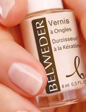 Лак укрепляющий БЕЛЬВЕДЕР для тонких и неровных ногтей с кератином