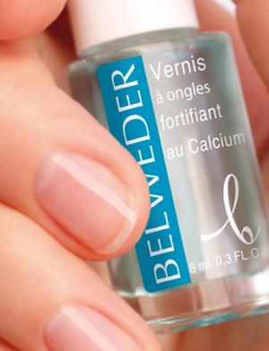 Лак укрепляющий БЕЛЬВЕДЕР для медленнорастущих и ломких ногтей с кальцием